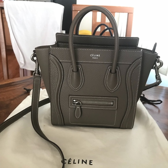 Celine Handbags - Authentic Céline Nano Luggage